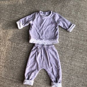 Reversible sweat suit from Baby Gap. 6-12 mos